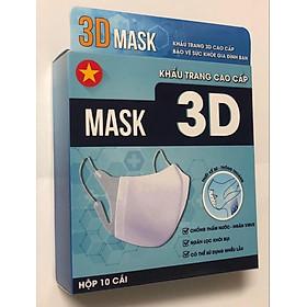 HỘP 10 KHẨU TRANG CAO CẤP 3D MASK