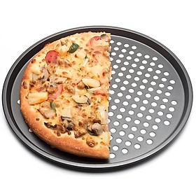 Khay Pizza Đục Lỗ Chống Dính / Khuôn Nướng Pizza Kích Thước 24.5cm