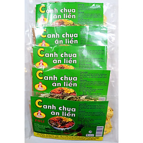 Combo 5 gói Canh Chua Ăn Liền (25g/gói)