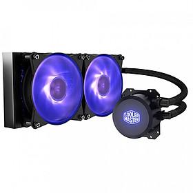 Tản nhiệt nước CPU Cooler Master MasterLiquid Lite ML240L RGB - Hàng Chính Hãng