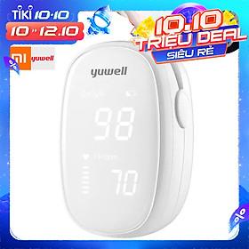 Máy đo oxy đầu ngón tay và cảm biến tốc độ cao màn hình OLED Xiaomi YouPin Yuwell YX102