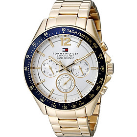 Tommy Hilfiger Men's 1791121 Sophisticated Sport Gold-Tone Stainless Steel Watch