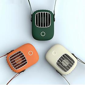 Quạt đeo cổ mini CYKE sạc USB tiện lợi khi chạy bộ, đi chơi, du lịch 2020-Hàng chính hãng
