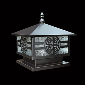 Đèn trụ cổng đèn trụ hàng rào phi 200 HANBACH