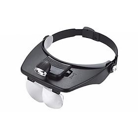 Kính lúp đeo đầu có đèn M2 (Zoom 1.2X-1.8X-2.5X-3.5X)