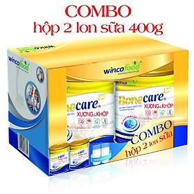 Hộp 2 Lon Sữa bột Wincofood Bonecare Xương và Khớp 400g