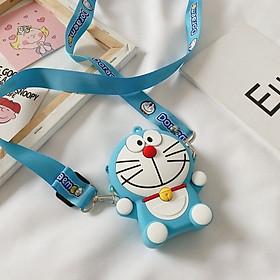 Túi đeo chéo silicon hoạt hình dễ thương cho bé trai, bé gái