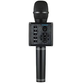 Micro Karaoke Cầm Tay Bluetooth Có Đèn LED Kết Nối Điện Thoại Di Động
