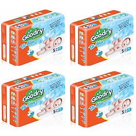 Bộ 4 Gói Tã Dán Goodry Bé Yêu S46 (<6kg)