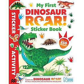 My First Dinosaur Roar! Sticker Book