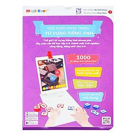 Hình đại diện sản phẩm Trò Chơi Phát Triển Từ Vựng Tiếng Anh MagicBook MB-EN001