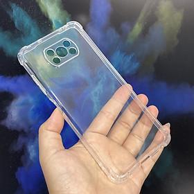 Ốp lưng cho Xiaomi Poco X3 NFC nhựa dẻo TPU trong che camera