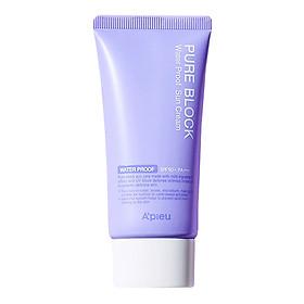 Kem Chống Nắng Chống Thấm Nước A'pieu Pure Block Natural Sun Cream Water Proof Spf50+ Pa+++ (50ml)
