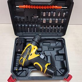 Bộ dụng cụ đa năng 24 món khoan pin 12V công suất 200W