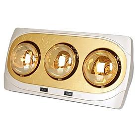Đèn sưởi Hans Kottmann 3 bóng vàng K3BH - Hàng chính hãng