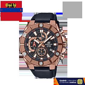 Đồng hồ nam dây da Casio Edifice chính hãng EFR-569BL-1AVUDF