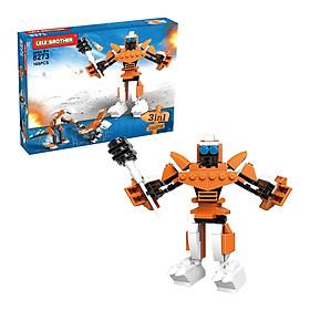 Đồ Chơi Lắp Ráp Sunstorm Lele Brother -Transformer Fighter 3in1 8273 (165 Mảnh Ghép)