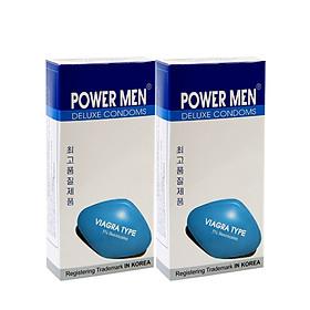 Bao cao su Powermen Siêu mỏng kéo dài hộp 12 chiếc
