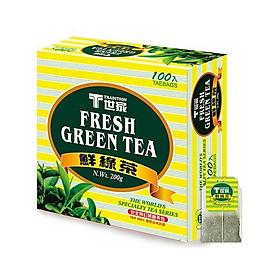 Gói trà xanh tươi Tradition 100 túi trà/ hộp