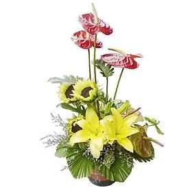 Bình hoa tươi - Ngày tươi đẹp 3045