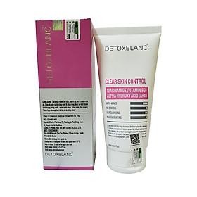 Sửa Rửa Mặt Sinh Học sạch nhờn ngừa mụn Detox BlanC Clear Skin Control 150ml