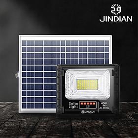 [MẪU MỚI] Đèn Năng Lượng Mặt Trời 40W JINDIAN JD8840L- Hàng Chính Hãng có Logo JINDIAN