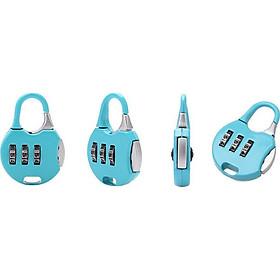 Khoá số mini balo, vali, hành lý ( màu ngẫu nhiên)