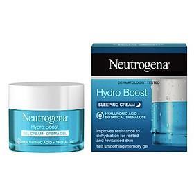 Mặt nạ ngủ Neutrogena Hydro Boost Sleeping Cream 50ml (Bill Anh)