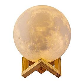 Đèn Led Hình Mặt Trăng 3D Cảm Ứng Đổi Màu