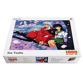 Bộ tranh xếp hình jigsaw puzzle cao cấp 1000 mảnh ghép – InuYasha