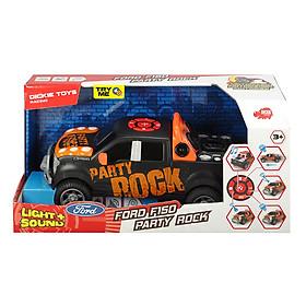 Đồ Chơi Xe Âm Nhạc Dickie Toys Ford F150 Truck Party Rock Anthem (29 cm)