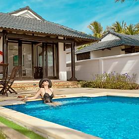 [2021] TTC Resort Kê Gà 4* - Gói 3 Bữa Ăn, Đồ Uống Không Giới Hạn, Hồ Bơi Và Bãi Biển Riêng