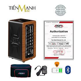 [Bluetooth, Pin sạc] Amply Aroma AG-60A  - Loa Ampli Guitar AG60A Amplifier AG60 - Kèm Bao Đựng, Móng Gẩy DreamMaker