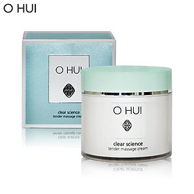 Kem massage cấp ẩm OHUI Clear Science Tender Massage Cream 230ml