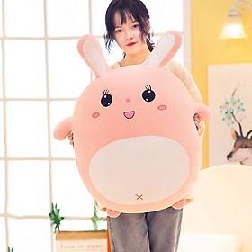 Gấu bông thỏ hồng 50cm TNB221, thỏ bông dễ thương, siêu đáng yêu - Mẫu ngẫu nhiên