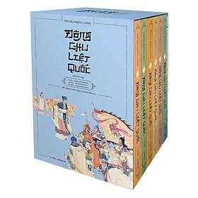 Hộp Đông Chu Liệt Quốc (Trọn Bộ 6 Tập) - Tặng Kèm Sổ Tay