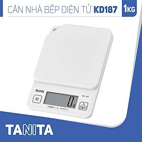 Cân điện tử nhà bếp TANITA KD187 (1kg) (Chính hãng Nhật Bản), Cân nhà bếp 1kg, Cân thức ăn 1kg, Cân thực phẩm 1kg, Cân Nhật, Cân trọng lượng, Cân chính hãng, Cân thực phẩm, Cân thức ăn, Cân tiểu ly điện tử, Cân chính xác, Cân làm bánh