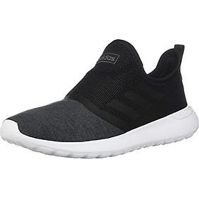 adidas W Lite Racer Slipon Black/Black/Gry Running Shoes (F36675)