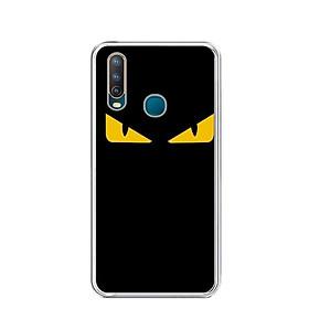 Ốp lưng dẻo cho điện thoại Vivo U10 - 0160 MONSTER02 - Hàng Chính Hãng