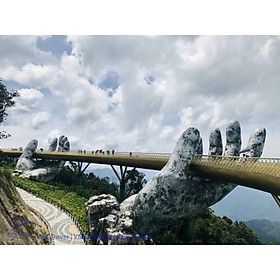 Xe shuttle bus Bà Nà Hills Cầu Vàng từ Đà Nẵng giá rẻ