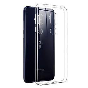 Ốp lưng dẻo dành cho Samsung Galaxy Nokia 8.1/ Nokia X7 Ultra Thin - Hàng chính hãng