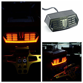 Motorcycle LED Brake Tail Light Integrated Turn Signal for Honda Grom MSX 125