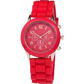 Đồng hồ đeo tay nam nữ geneva unisex thời trang DH73
