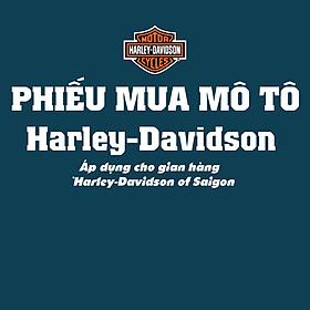 Phiếu mua xe Mô Tô Harley-Davidson of Saigon
