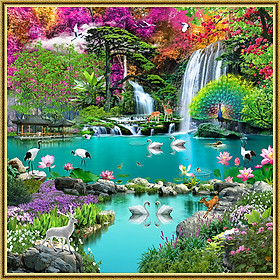 Tranh dán tường cảnh đẹp thiên nhiên tuyệt đẹp NewLuna_0055K