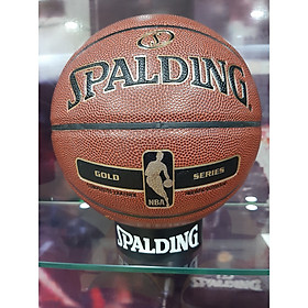 Quả bóng rổ Spalding NBA Gold Series Indoor/Outdoor size 7 (76-014z)
