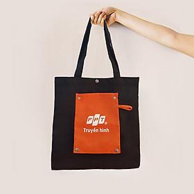 Túi vải canvas FPT Truyền Hình
