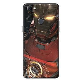 Ốp Lưng Dành Cho Oppo F7 - Iron Man 3D