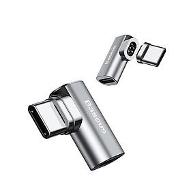 Đầu chuyển đổi USB Type C từ tính Baseus Mini Magnetic Type-C Converter cho Macbook Pro 16-17- Hàng chính hãng
