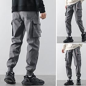 Quần thể thao nam kaki TinoFun mã TT33 bó ống co giãn dáng jogger túi hộp vải đẹp dài mùa hè thu